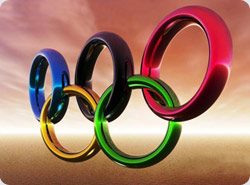 Bob Berlands Olympic Rings